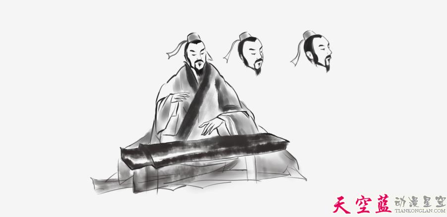 二维水墨动画故事片制作:汉阳民间传说《高山流水遇知音》 动画制作 第2张