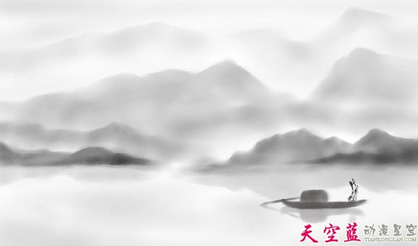 二维水墨动画故事片制作:汉阳民间传说《高山流水遇知音》 动画制作 第3张