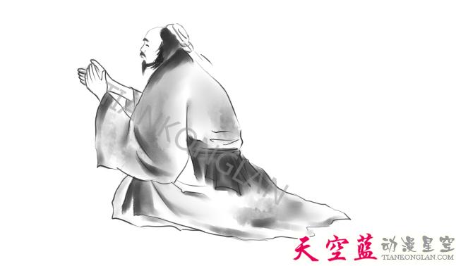 二维水墨动画故事片制作:汉阳民间传说《高山流水遇知音》 动画制作 第18张
