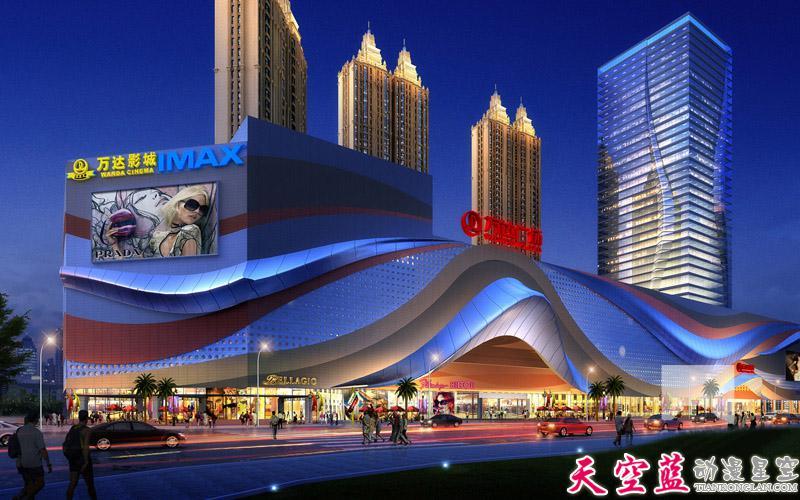 武汉地产三维动画创意制作:完美呈现建筑风格