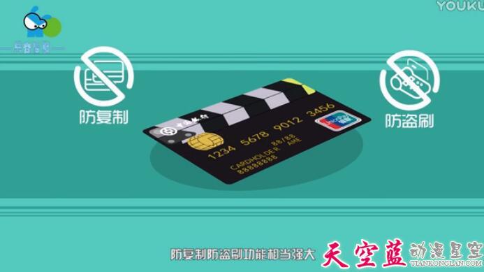 武汉二维MG动画制作中国银行信用卡业务介绍