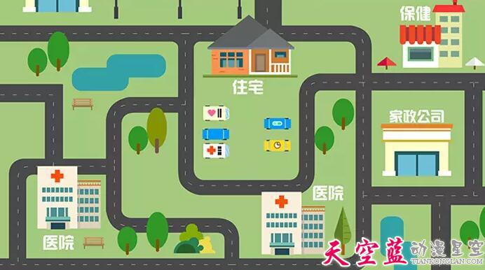 武汉APP产品宣传演示MG动画制作(二维动漫制作)