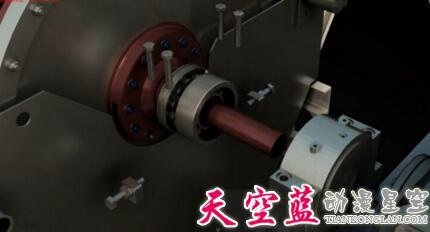 武汉三维3D机械动画在机器人上的应用