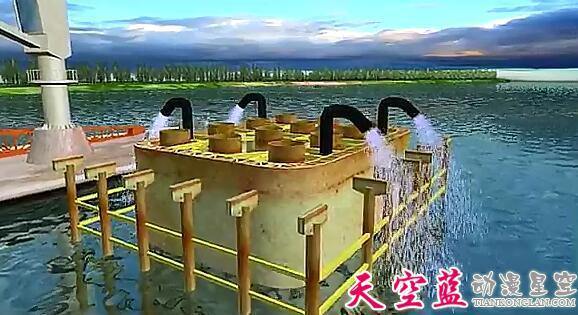 武汉天兴洲长江大桥3D动画制作赏析