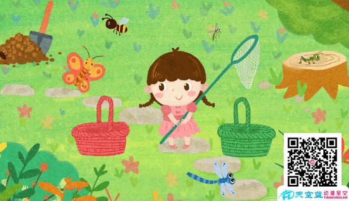 幼儿课件制作:科学害虫益虫 (视频+互动)
