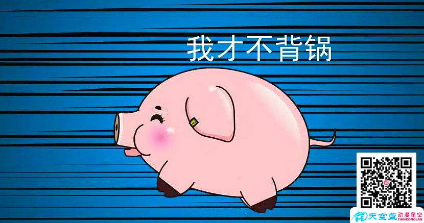 武汉Flash动画制作:猪真的很笨吗