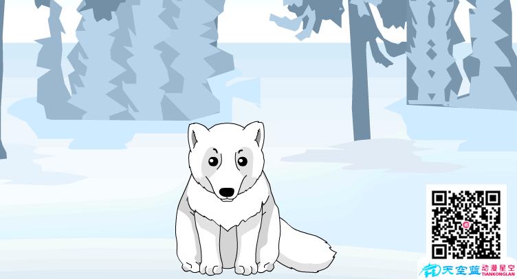 """Flash动画制作《为什么北极狐喜欢""""换装""""?》"""