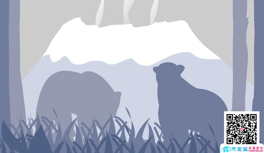 武汉Flash动画课件制作-南极为什么没有北极熊