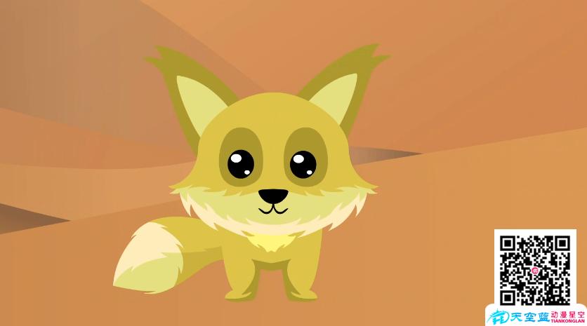 【Flash课件动画制作】沙狐的耳朵为何大而长