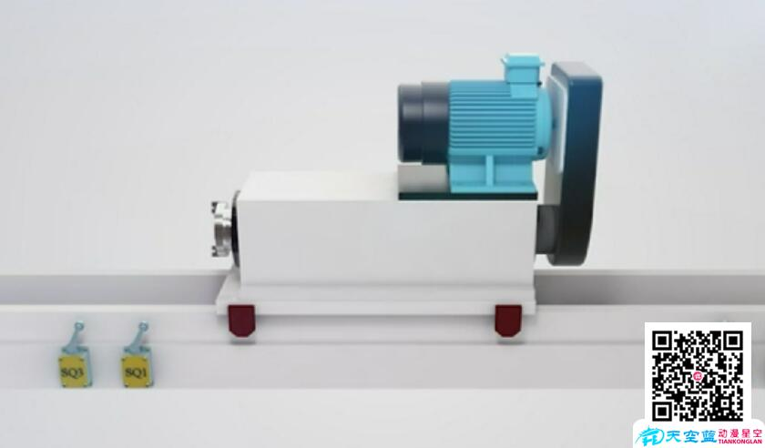 武汉微课制作(三维演示):材料工程学校·电力拖动与控制技术