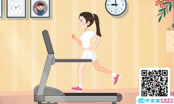 冒个炮动漫设计制作《运动减肥怎么反而胖了》