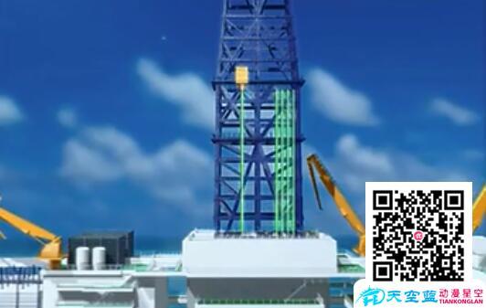 三维动画海上采油演示