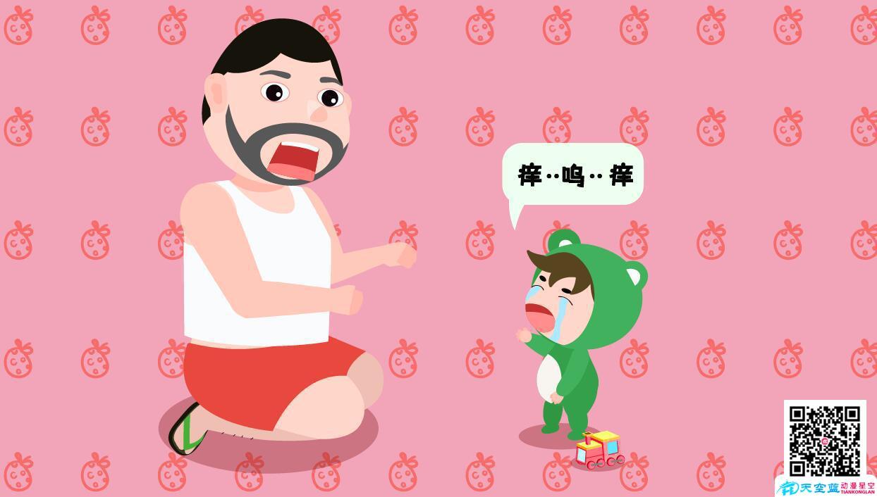 小孩子身上痒是怎么回事可怜的宝宝痒.jpg