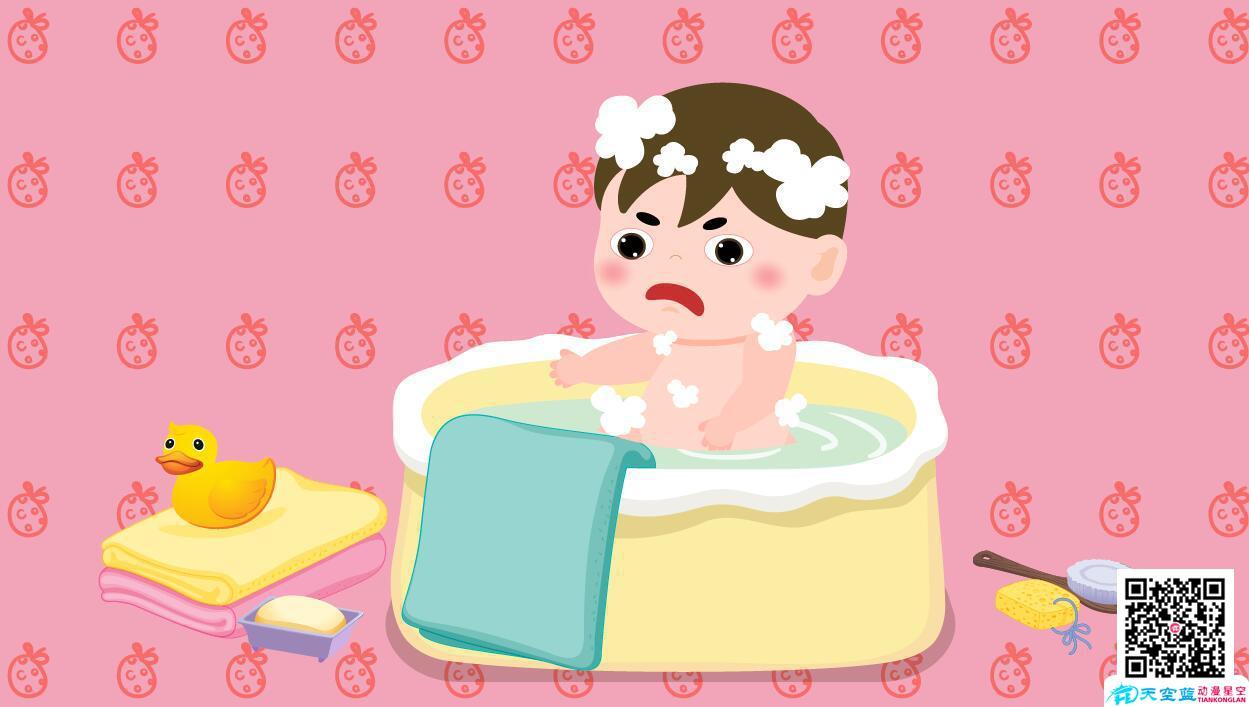 小孩子身上痒是怎么回事有没有洗澡澡.jpg